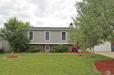 Cheyenne WY Single Family Home For Sale: $279,000