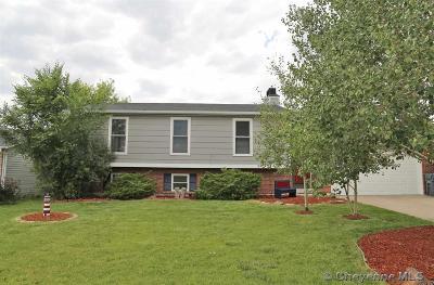 Cheyenne  Single Family Home For Sale: 4318 Polk Ave
