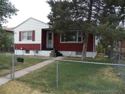 Cheyenne WY Single Family Home For Sale: $214,900