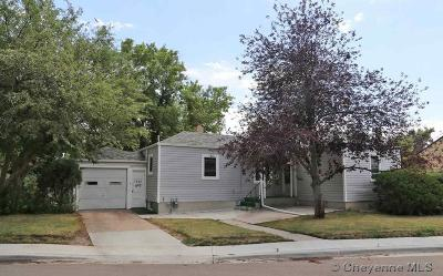 Cheyenne WY Single Family Home For Sale: $210,000