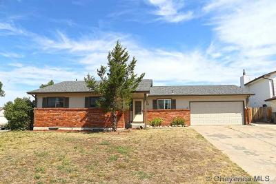 Cheyenne WY Single Family Home Temp Active: $269,900