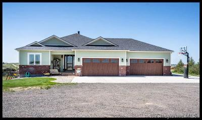Cheyenne WY Single Family Home Temp Active: $625,000