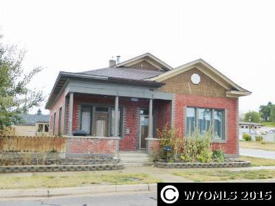 Kemmerer Single Family Home For Sale: 1221 Beech Ave.
