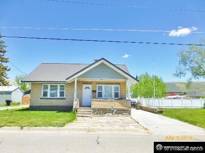 Kemmerer Single Family Home For Sale: 1110 Beech Ave
