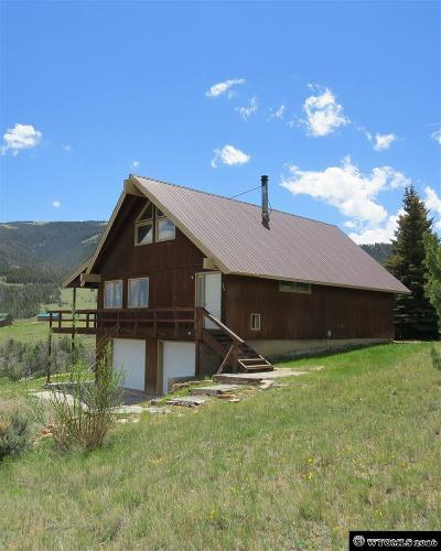 Dubois,  Kinnear,  Crowheart, Pavillion Single Family Home For Sale: 142 Soda Springs