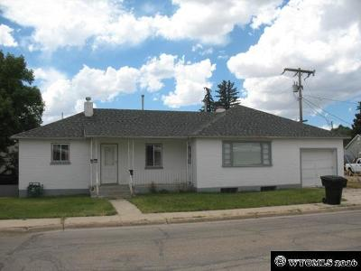 Kemmerer Multi Family Home For Sale: 1205 Sage Street