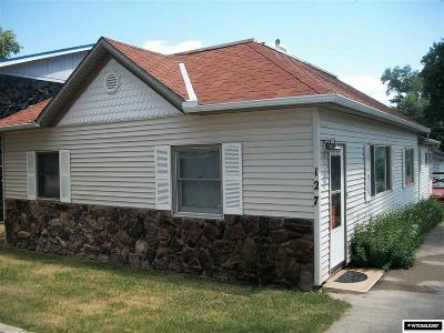 Buffalo Single Family Home For Sale: 127 S Wyoming