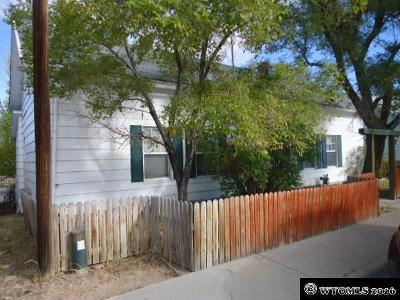Rock Springs Single Family Home For Sale: 717 O'donnell