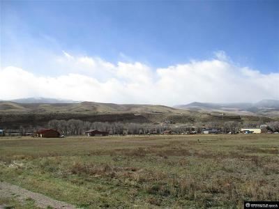 Dubois,  Kinnear,  Crowheart, Pavillion Residential Lots & Land For Sale: 33 Riverview
