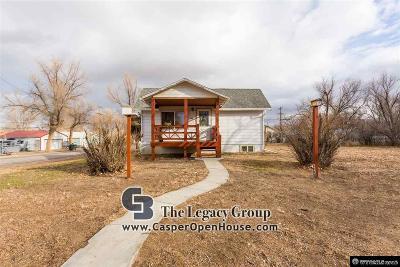 Glenrock Single Family Home For Sale: 702 S 3rd