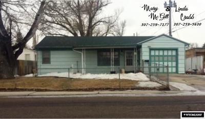 Casper Single Family Home For Sale: 1333 E 15th