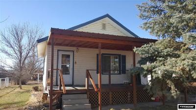 Kaycee Single Family Home For Sale: 326 Ritter
