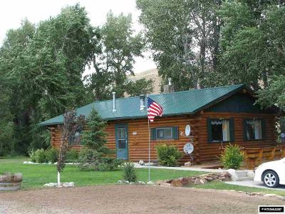 Dubois WY Single Family Home Pending-Continue To Show: $329,000