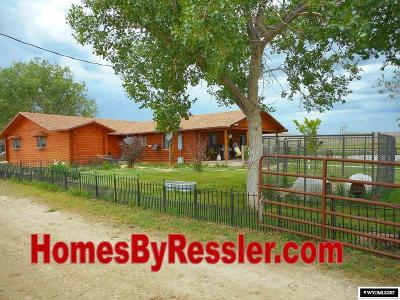 Casper Single Family Home For Sale: 21000 Hwy 220