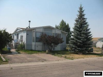 Diamondville Single Family Home For Sale: 50 Hillcrest Drive