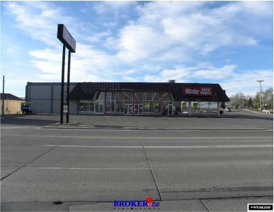 Casper Commercial For Sale: 2021 & 2027 E Yellowstone