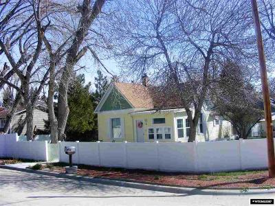 Single Family Home For Sale: 91 S Wyoming