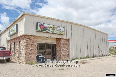 Casper Commercial For Sale: 300 Salt Creek Hwy