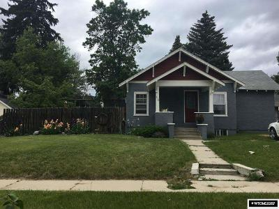 Buffalo Single Family Home For Sale: 216 S Wyoming