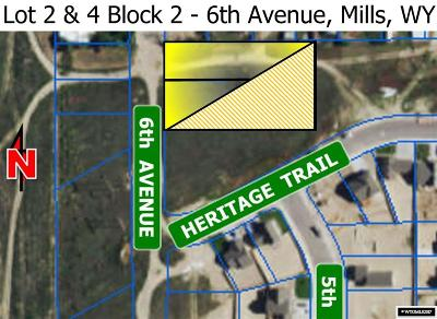 Mills Residential Lots & Land For Sale: 813 & 825 6th