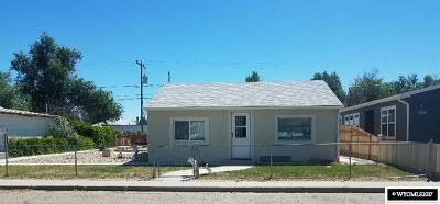 Casper Multi Family Home For Sale: 741 & 741 1/2 N Lincoln