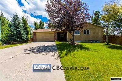 Casper Single Family Home For Sale: 4910 S Ash