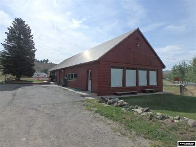 Dubois WY Commercial Pending-Continue To Show: $210,000