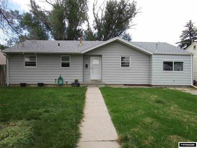 Casper, Evansville, Bar Nunn, Glenrock, Douglas, Midwest, Alcova Single Family Home For Sale: 1325 S Pine