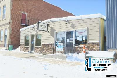 Glenrock Commercial For Sale: 119 S 4th