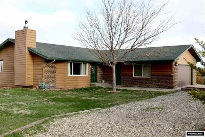 Casper Single Family Home For Sale: 5060 Chuckwagon