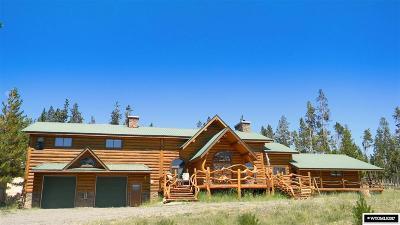 Dubois,  Kinnear,  Crowheart, Pavillion Single Family Home For Sale: 12 Spruce Rd.