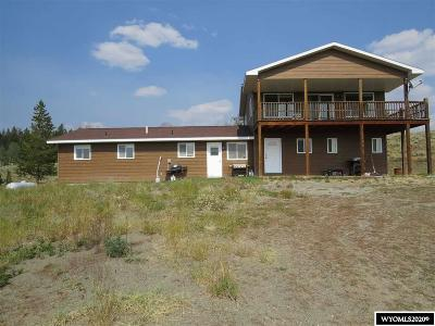 Dubois,  Kinnear,  Crowheart, Pavillion Single Family Home For Sale: 18 High Country
