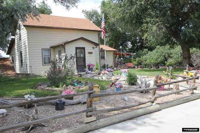 Glenrock Single Family Home For Sale: 113 N 8th Street