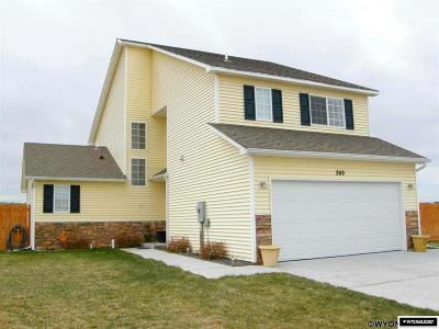 Glenrock Single Family Home For Sale: 369 Miller
