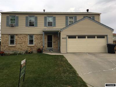 Casper, Evansville, Bar Nunn, Glenrock, Douglas, Midwest, Alcova Single Family Home For Sale: 4411 S Ash