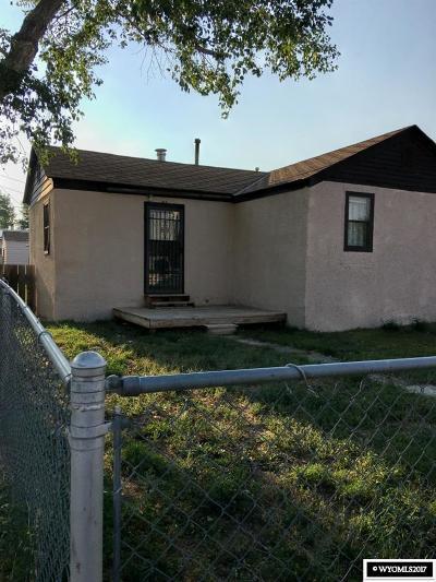 Glenrock Single Family Home For Sale: 245 N 4th