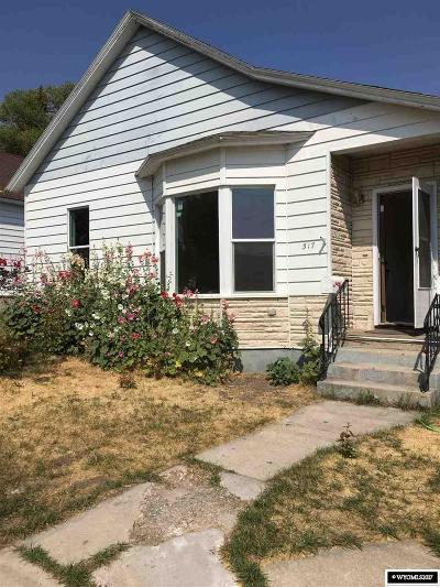 Single Family Home For Sale: 317 & 317.5 Emerald