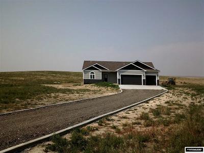 Casper Single Family Home Temporarily Off Market: 3810 Cattle Trail