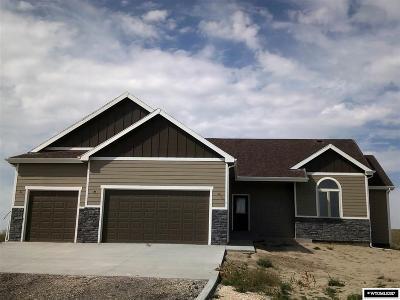 Casper Single Family Home Temporarily Off Market: 3726 Cattle Trail