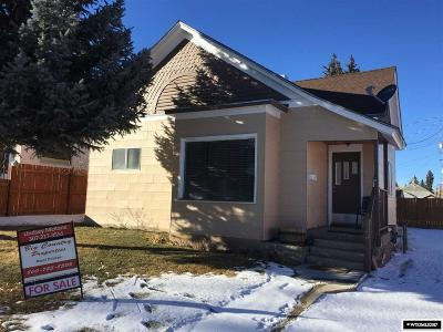 Kemmerer Single Family Home For Sale: 313 Emerald