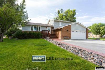 Casper Single Family Home For Sale: 8145 Sims Creek Road