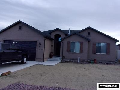 Rock Springs Single Family Home For Sale: 3220 Brickyard