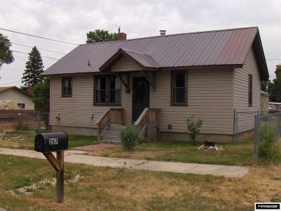 Buffalo Single Family Home New: 267 W Lott