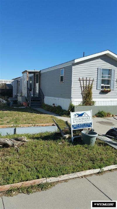 Casper Single Family Home For Sale: 2760 Robertson Rd #24