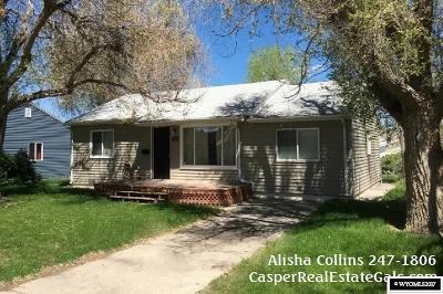 Casper Single Family Home For Sale: 833 Derington