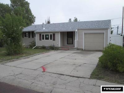 Casper Single Family Home For Sale: 2221 S Mitchell