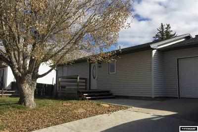 Casper, Evansville, Bar Nunn, Glenrock, Douglas, Midwest, Alcova Single Family Home For Sale: 1933 Glendo