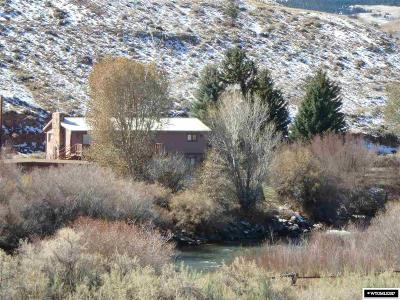 Fremont County Single Family Home For Sale: 7 Warm Springs Rd.