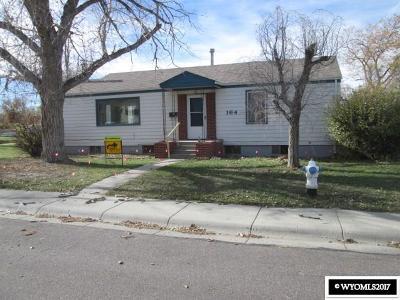 Single Family Home For Sale: 164 N Nebraska