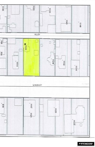Casper Residential Lots & Land For Sale: 1122 N Park Street